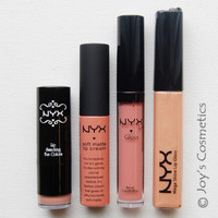 """""""All about Lips - NUDE"""" by NYX *Joy's cosmetics Set *"""