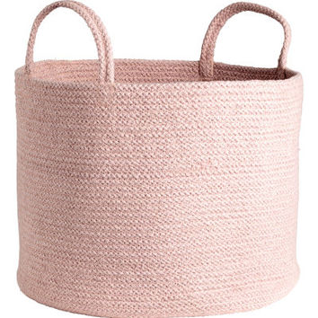 Cotton Storage Basket - from H&M