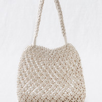 Aerie Crochet Bag, Soft Muslin