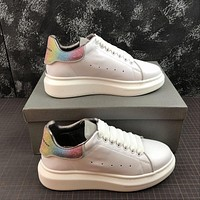 Alexander Mcqueen Oversized White Multicolor Color Sneakers