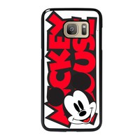 MICKEY MOUSE LOGO Samsung Galaxy S7 Case