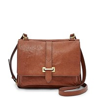 Maddie Small Crossbody, Brown | FOSSIL