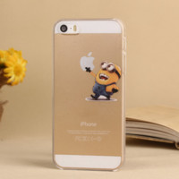 Minions Cartoon iPhone Case for iPhone 5/5s/6/6s