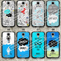 The Fault in Our Stars Samsung S3 S4 Case,Samsung Galaxy S3 S4 Hard Case,cover skin case for Samsung s3 s4 case,More styles for you choose