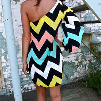 Crazy About You One-Shoulder   The Rage