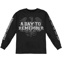A Day To Remember Men's Friends Long Sleeve Black