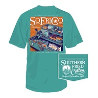 Hook, Link, Sinker Tee in Seafoam by Southern Fried Cotton