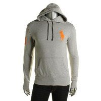 Polo Ralph Lauren Mens Heathered Signature Hoodie