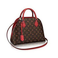 Tagre™ ONETOW Louis Vuitton Neverfull MM Monogram Canvas ALMA B'N'B Bag Handbag Red Article: M41779