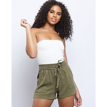 Avalon Drawstring Shorts