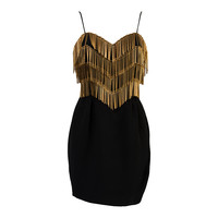 Moschino Couture Vintage Dress with pins