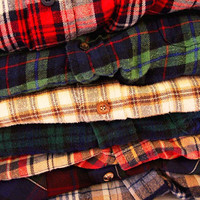 High Quality Mystery Vintage Flannel Shirt