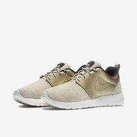 The Nike Roshe One Premium Suede Women's Shoe.