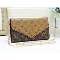 LV fashion hot seller women's casual print Mosaic color shopping shoulder bag #5