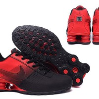 Nike AIR Shox OZ running Men's sneaker red/black