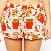 Minkpink Fries Before Guys Shorts