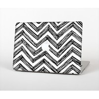 """The Sketch Black Chevron Skin Set for the Apple MacBook Pro 15"""" with Retina Display"""