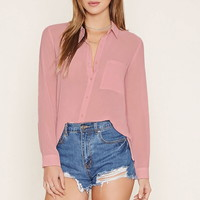 Pocket Top | Forever 21 - 2000160436