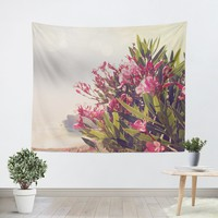 Flowers in Paradise 2 Tapestry