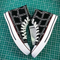 J.w.anderson X Converse Chuck Taylor All Star 1970s Black Sneakers - Best Online Sale