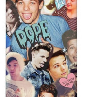 louis collage by InfiniteVibess on Etsy