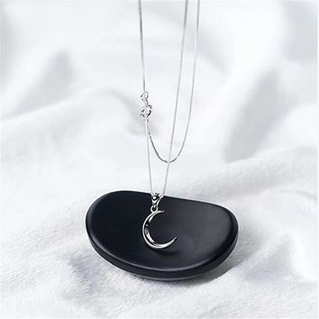 Lonely Moon Necklace
