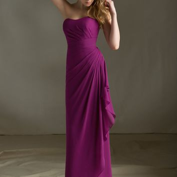 Chiffon Bridesmaid Dress with Keyhole Coverlet   Style 683   Morilee
