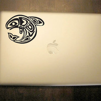 Native American Fish Decal - Vinyl Sticker -  For Car, Window, Laptop, Wall