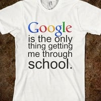 Google is the Only Thing Unisex Fitted Tee