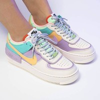 """Nike WMNS Air Force 1 Shadow""""Tropical Twist""""Low Band Slippers"""