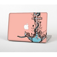 """The Blue Pastel Anchor with Roses Skin for the Apple MacBook Pro Retina 13"""""""