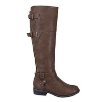 Fall Frolic Boots - Brown