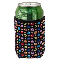 Pac-Man Chase Scene All-Over Can Cooler