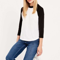 Urban Outfitters 70s Baseball Tee - Urban Outfitters
