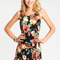 Glowing Floral Dress