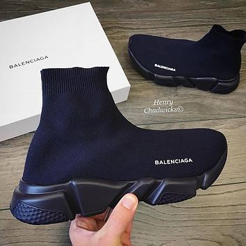 Balenciaga Woman Men Fashion Breathable Sneakers Running Shoes  5 (color)