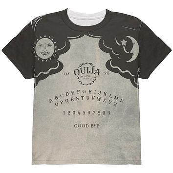 Halloween Ouija Board Costume All Over Youth T Shirt