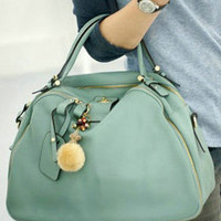 Casual Top Handle Hobo Bag
