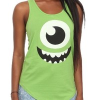Disney Monsters, Inc. Mike Girls Tank Top Size : Large
