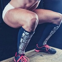 Rocktape RockGuards V3 - Shin Protection for CrossFit and OCR Manifesto (Small)
