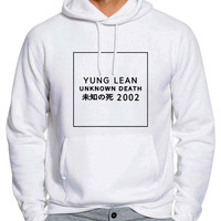 Yung Lean Unknown Death 2002 834 Man Hoodie and Woman Hoodie