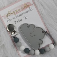 Grey Cloud Teether