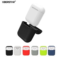 For Apple AirPods Case Silicone Shock Proof Protector Sleeve Skin Cover for AirPods True Wireless Earphone Cases Cover