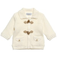 Ivory Knitted Duffle Coat