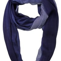 Eyeful Women's Viscose Ombre Infinity/Loopy Scarf