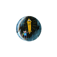 Adventure Time Awesome Jake Sword Pin