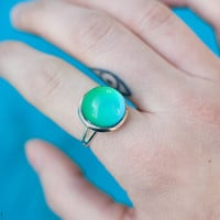 Mood Ring / Adjustable Color Changing Ring / 90s Inspired