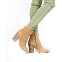 Very Volatile - Preston Boots in Tan Suede