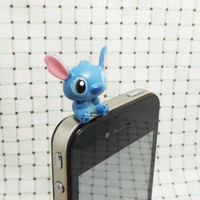 Lilo & Stitch 3.5mm Headphone Headphone Plug for iPhone 4 4S 5 5S HTC Samsung Blackberry Sony Nokia etc