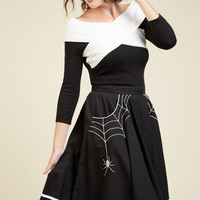 Web and Flow Skirt